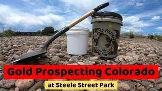 Gold Prospecting Colorado at Steele Street Park
