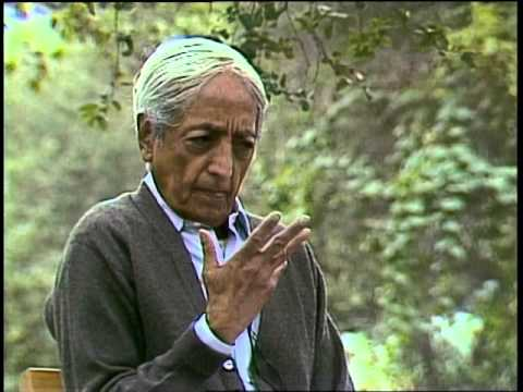 How does one tackle the dormant seed of fear? | J. Krishnamurti