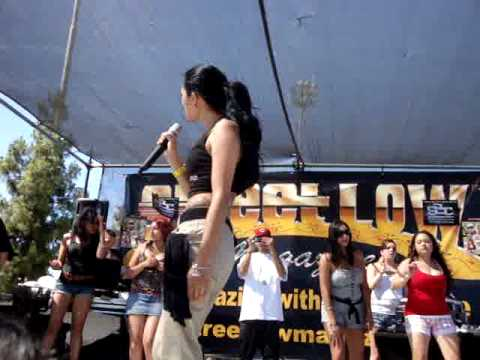 DAVINA AT THE STREETLOW MAGAZINE SAN JOSE CAR SHOW YouTube - San jose car show