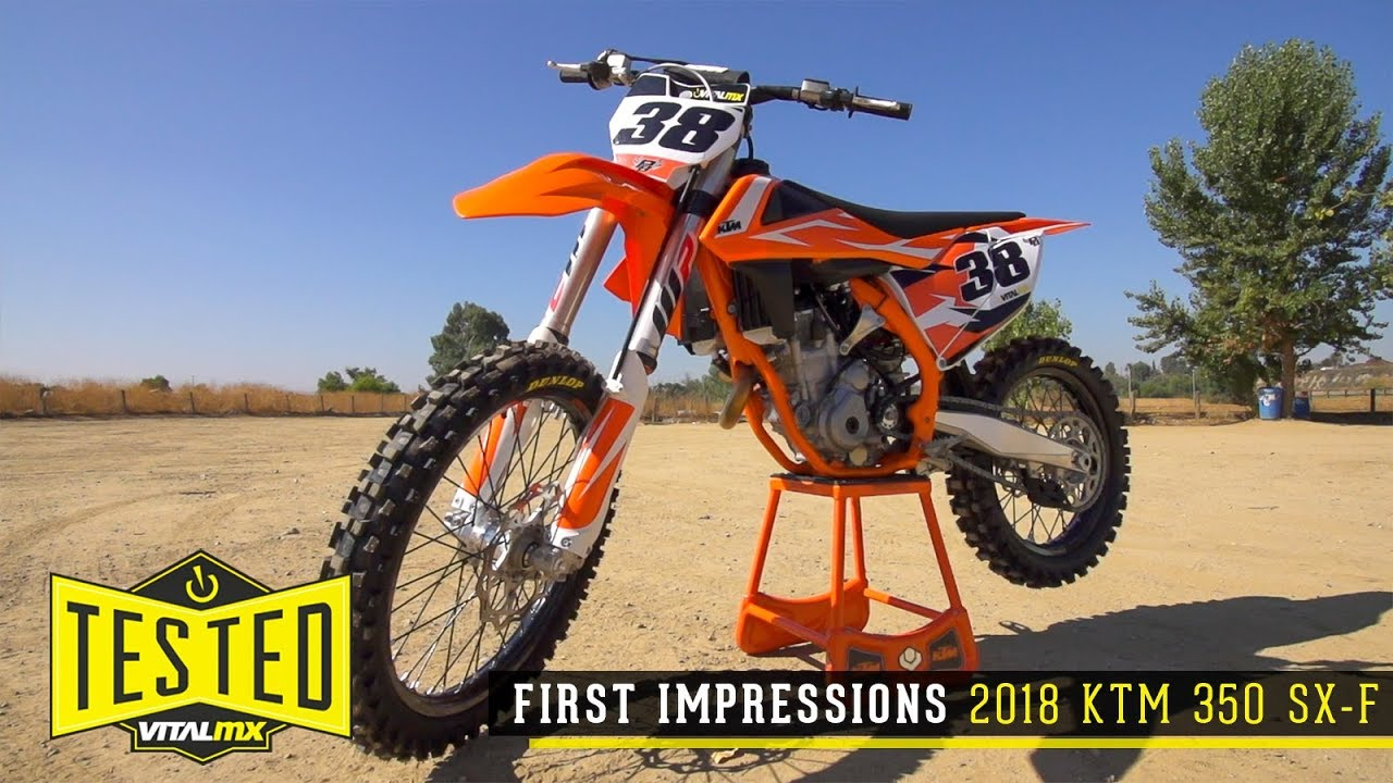 2018 ktm 350 xcf. unique 2018 vital mx first impressions 2018 ktm 350 sxf intended ktm xcf