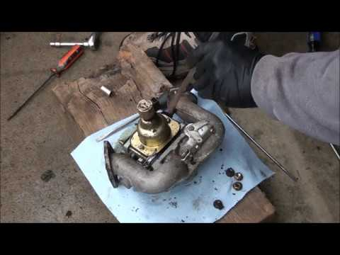 BRIGGS and STRATTON 18 5 hp V Twin OHV INTEK Engine CARBURETOR REBUILD   Lawnmower sat for 5 years!