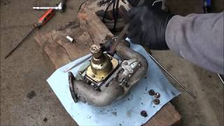 BRIGGS and STRATTON 18.5 hp V Twin OHV INTEK Engine CARBURETOR REBUILD. Lawnmower sat for 5 years! MP3