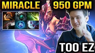 Miracle AM 950 GPM Look so Easy with Him Dota 2 Plus 7.11