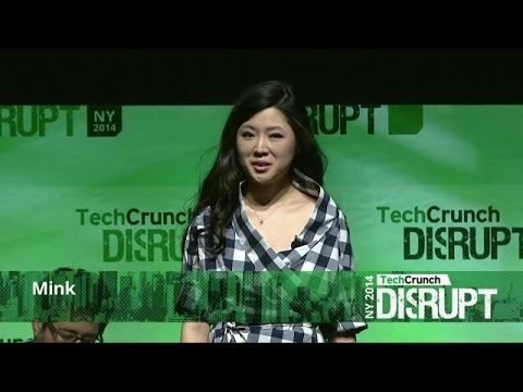 Print Your Own Makeup With Mink | Disrupt NY 2014