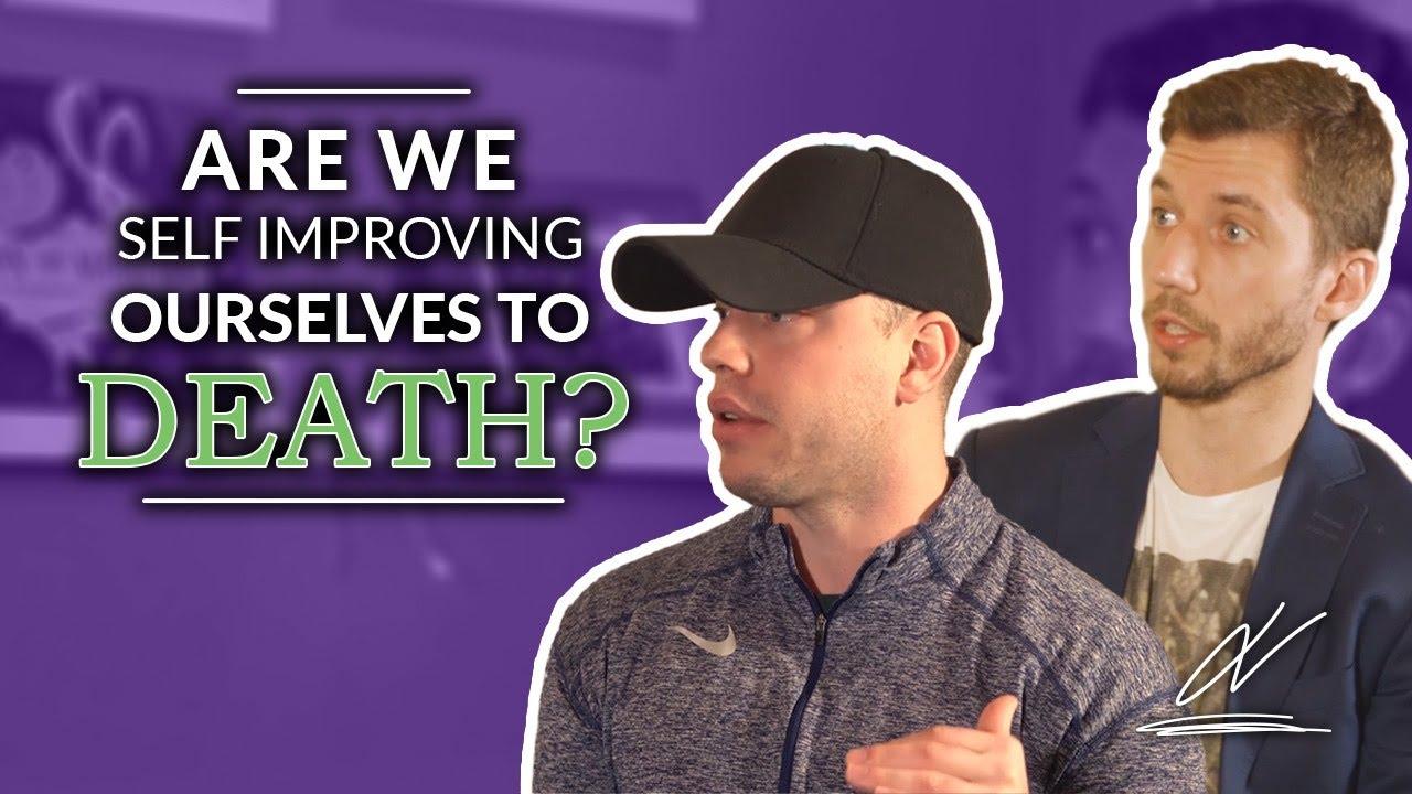 Are We Self Improving Ourselves To Death - Marek Komar on #TalktoJV