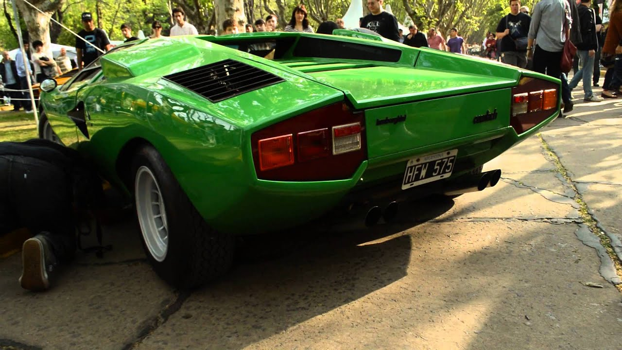 Lamborghini Countach Lp 400 Autoclasica 2013 Youtube