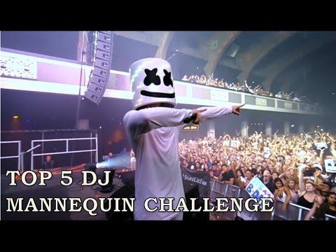 Top 5 DJ Mannequin Challenge (SUPER LIT!) ✔