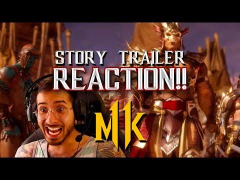 Mortal Kombat 11: Story Trailer Reveal (REACTION!) thumbnail