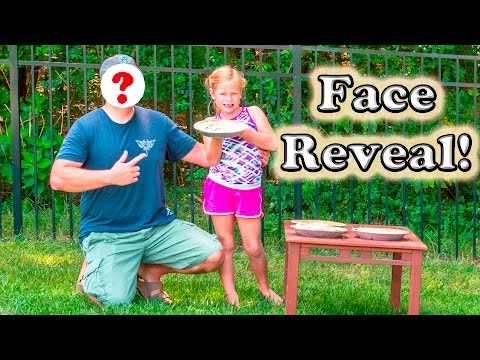 FACE REVEAL The Engineering Family Face Reveal Pie in the Face Video