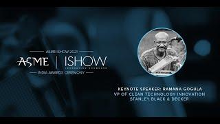 ISHOW India 2021 – Awards Keynote