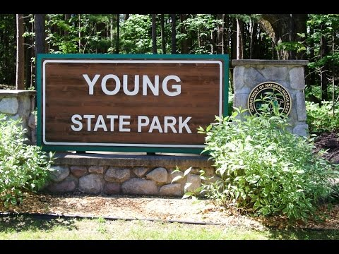 Camping at Young State Park near Boyne City, Mi
