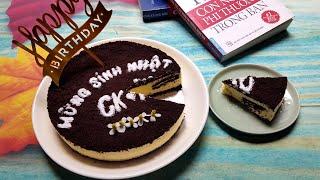 Cheesecake Oreo | Cách Làm Bánh Phô Mai Oreo | Bánh Sinh Nhật Không Cần Lò Nướng | Góc Bếp Nhỏ