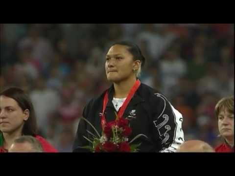 Valerie Adams wins Gold, Beijing 2008