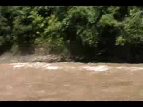 Catching fish in Magoh River, near Long Seridan, Baram - Part 2
