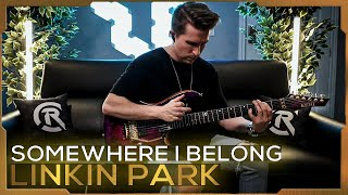Linkin Park - Somewhere I Belong | Cole Rolland (Guitar Cover)