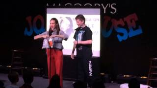 "(LIVE!) Miranda Sings Breaks Character Playing ""Chubby Bunny"""
