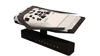Корабль  Интерстеллар. Interstellar Ranger papercraft, part 1.