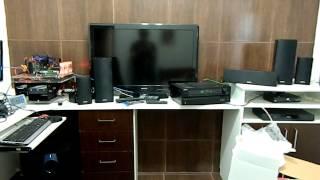 ONKYO HT-S5400 REPRODUZINDO ARQUIVO MP3 VIA CABO ÓPTICO LIGADO A PLACA MÃE