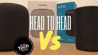 Apple HomePod vs Amazon Echo: Smart Speaker Showdown