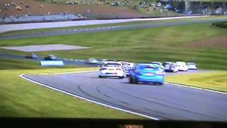 BTCC 2011- Round 5 (Donington Park) - Jason Plato crash