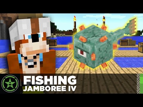 Let's Play Minecraft: Ep. 185 - Fishing Rodeo and Jamboree IV
