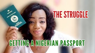 Nigerian passport renewal struġgles | What the E passport looks like
