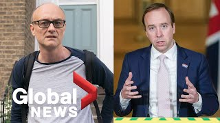 Coronavirus outbreak: UK health secretary says PM aide's travel during lockdown was 'reasonable'