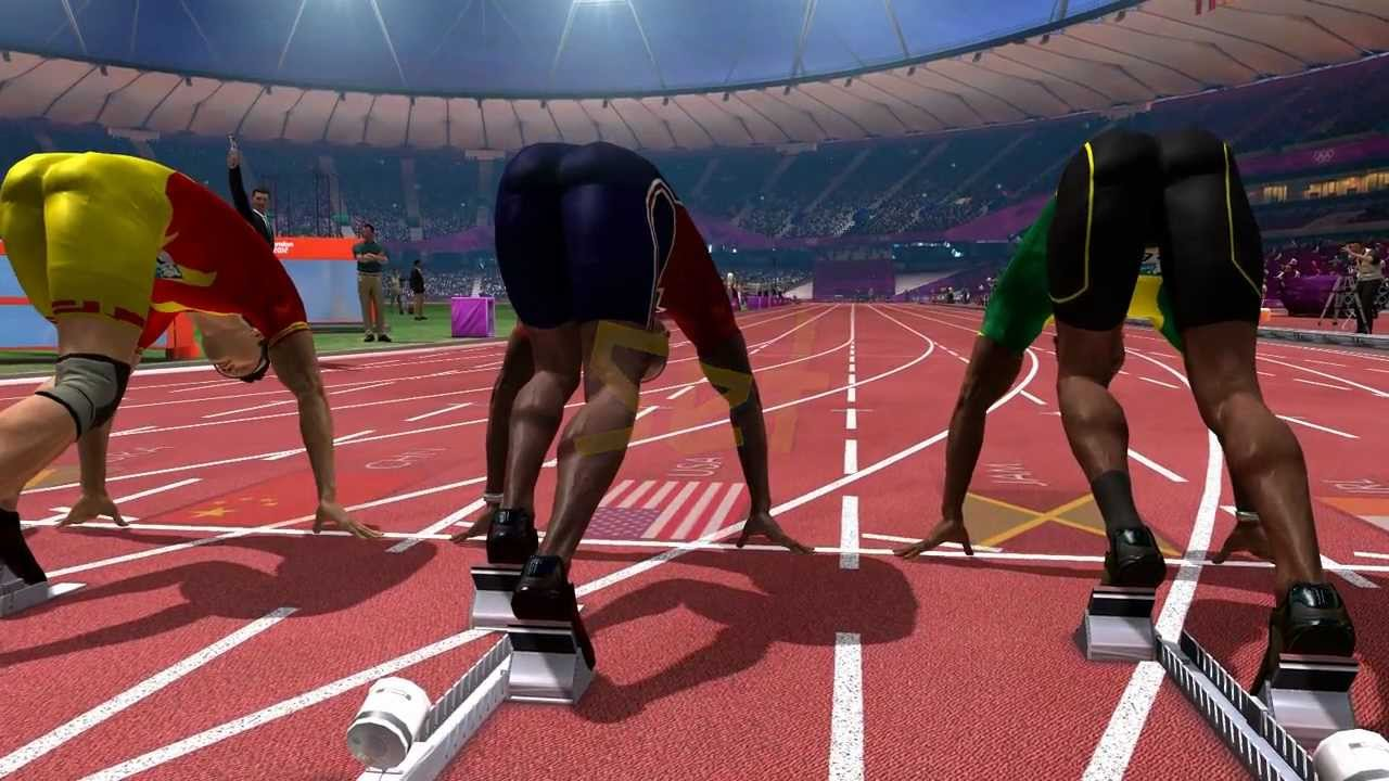London 2012: The Official Video Game - Men's 100m
