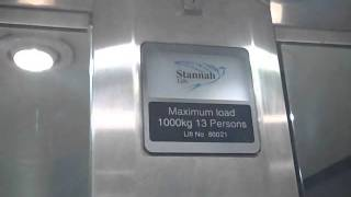 Stannah Lift @ The Royal Pumps Library In Leamington Spa.avi