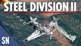 Steel Division 2 - GERMAN BREAKTHROUGH! - LIVE Multiplayer Gameplay  [3v3 - Vitebsk]