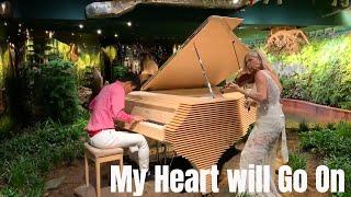 My Heart Will Go On   Titanic   Piano Violin by Roy & Rosemary