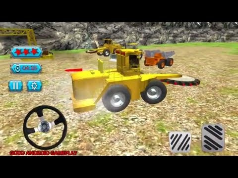 Mining and Mineral Extraction - Drilling Truck| Crane | Tractor Operator Android GamePlay FHD
