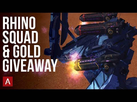 The Rhino Squad + Gold Giveaway / War Robots VØX Clan Live Stream