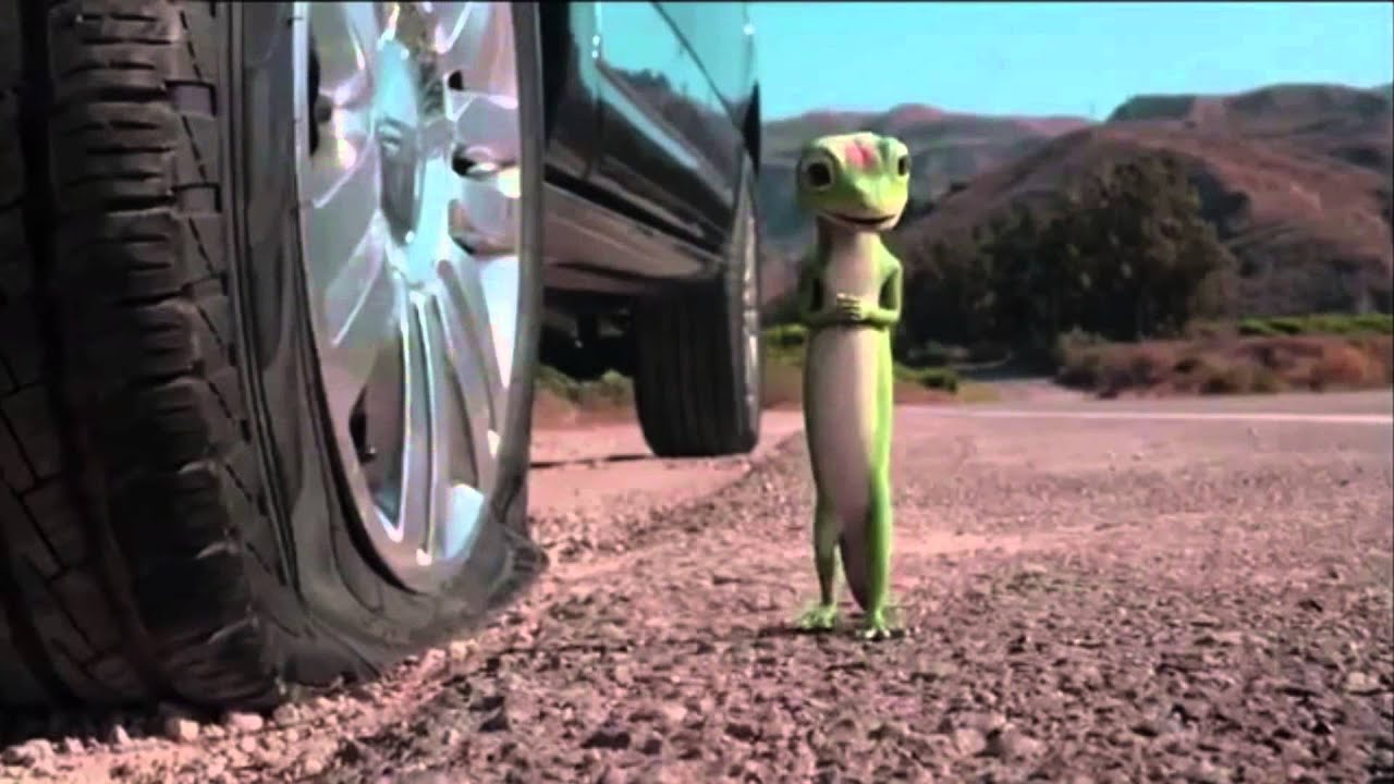 Best One Tire >> GEICO flat tire commercial (bloody spoof) - YouTube