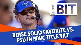 Fresno State Bulldogs at Boise State Broncos | Sports BIT | NCAAF Picks
