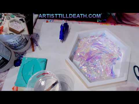 Creating a Cellophane Opal Tray