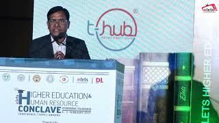 Prof Limbadri, VC, Telangana State Council of Higher Education, Govt. of Telangana