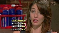 Kara Scott vs. Steve Davis & Gladstone Small | Poker Legends | Sports Stars Challenge III
