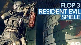 Die 3 schlechtesten Resident-Evil-Spiele