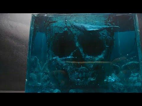 DIY Skull Island/ Resin Water