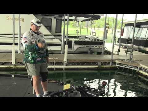 Spoon fishing on Table Rock Lake