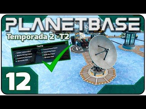 Planetbase T2 #12: Antena de Rádio e TODAS AS TECHS [PT-BR]