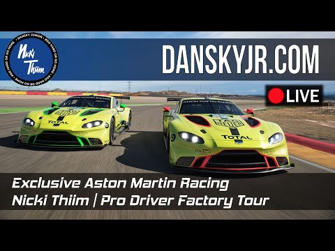 Exclusive Aston Martin Racing Factory Tour | Nicki Thiim | The Most Expensive Car collection?