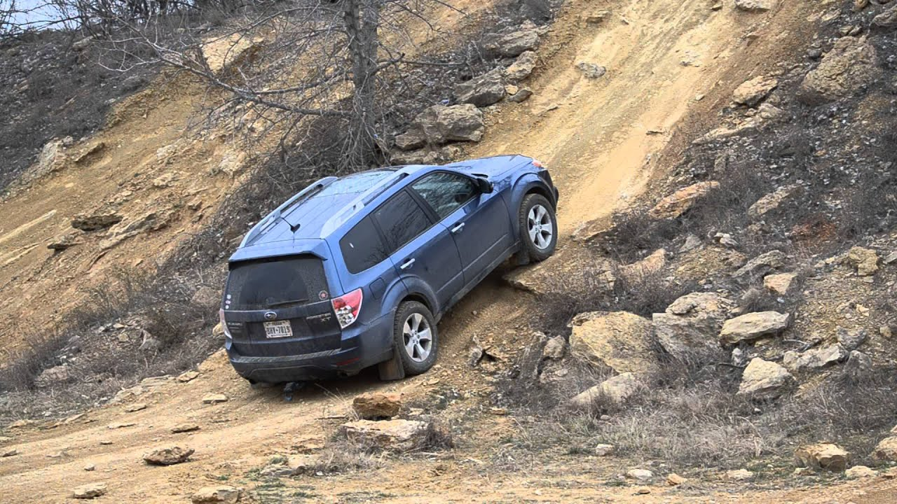 Northwest Ohv Park High Top Hill Climb Subaru Forester Off Road You