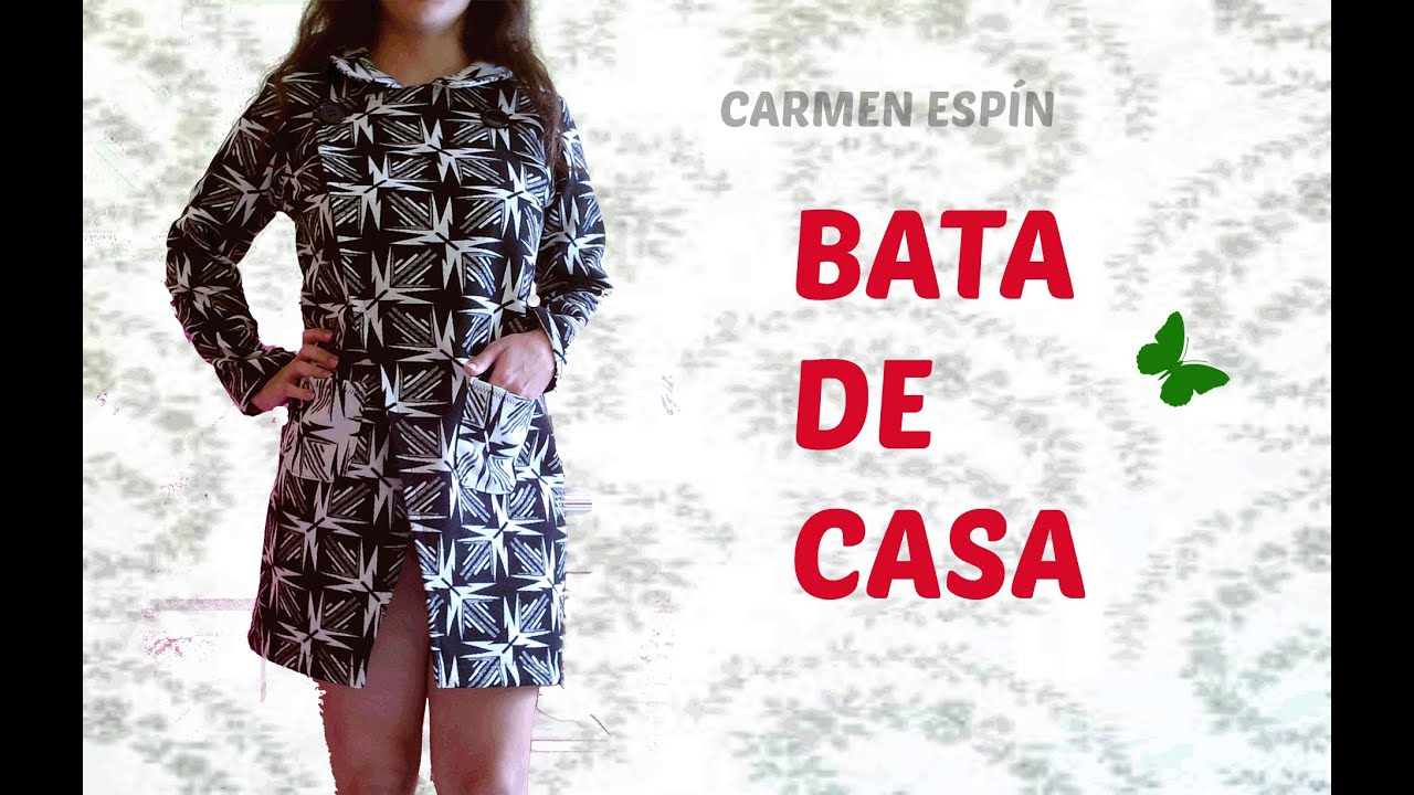 DIY:BATA DE CASA - YouTube
