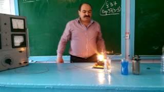 Какие жидкости проводят электрический ток? Фрагмент урока. 8 кл.