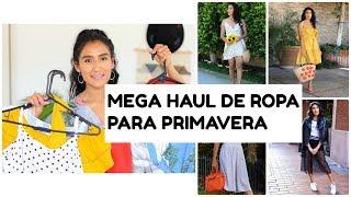 MEGA HAUL DE ROPA PARA PRIMAVERA, COMPRAS ON LINE ACUMULADA, BONITA Y ECONOMICA  | ALMALATINA29