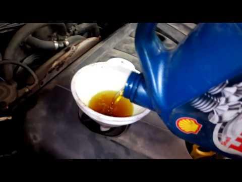 Замена масла в KIA Cerato (КИА Черато (Церато)) с промывкой масляной системы