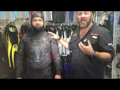 Mares Explore Black Camo Wetsuit