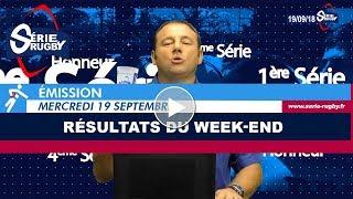 Emission Série Rugby Mercredi 19 Septembre 2018